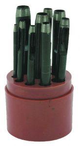 Boite de 9 Emporte pieces à frapper D2 à D10 mm