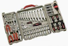 Valise de 109 outils 1/4 + 1/2