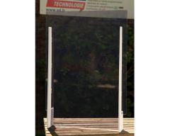 Ecran de protection transparent L700 x H980 mm sans guichet