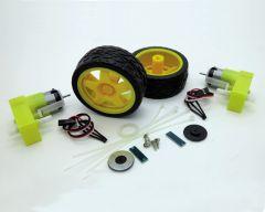 Kit motoréducteur avec codeur + roues