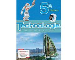 Bimanuel Technologie 5ème (2017) Manuel élève