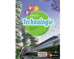 Livre Technologie cycle 4 - version i-manuel (livre+licence en ligne)