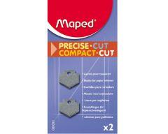 2 lames droites pour massicots référence MAP-089301