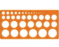 Trace-cercles pairs et impairs de 1 à 35 mm
