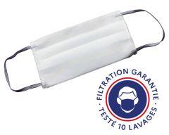 Masque barrière, cat. 1, lavable 10 fois, testé DGA