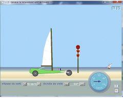 7 simulations Char à voile