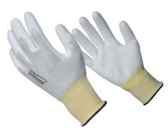 Gant nylon blanc - Taille 8