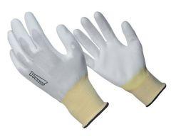 Gant nylon blanc - Taille 9